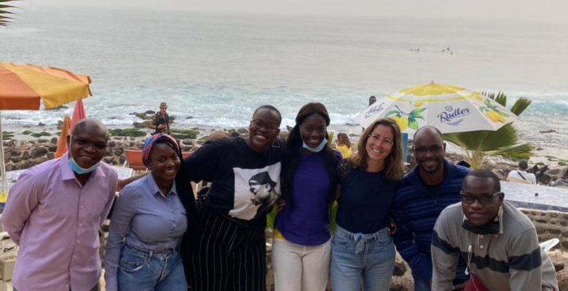 CaLP/ACF team in Dakar, Senegal.