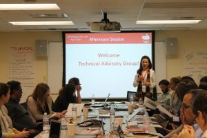 CaLP's first meeting of the Technical advisory group